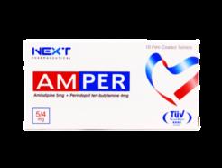 Amper Tab 5mg/4mg 10s
