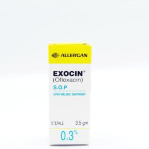 Exocin Ophthalmic Oint 0.3% 3.5g