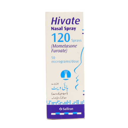 Hivate Nasal Spray 50mcg 120SPF