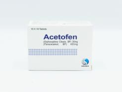 Acetofen Tab 35mg/450mg 100s