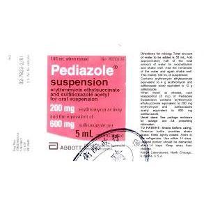 Pediazole suspension 60 mL